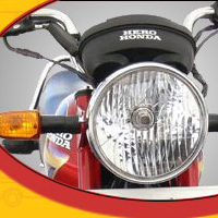 Hero Honda Cddawn Head Light View