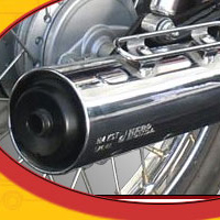 Hero Honda Cddawn Silencer View