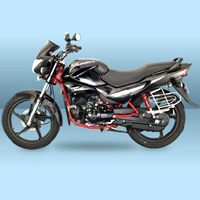 Hero Honda Glamour FI Left View