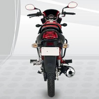Hero Honda Glamour Back View