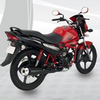 Hero Honda Glamour Front Cross Side View