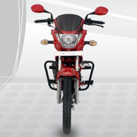 Hero Honda Glamour Front View