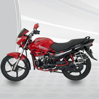 Hero Honda Glamour Left View