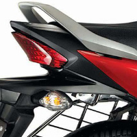 Hero Honda Hunk Back Light View