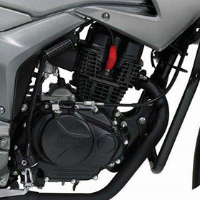 Hero Honda Hunk engine view Picture
