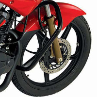 Hero Honda Hunk Wheels And Tyre View
