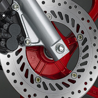 Hero Honda Karizma R Disk Brake View