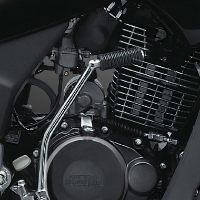 Hero Honda Karizma R Engine View