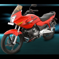 Hero Honda Karizma R Front Cross Side View
