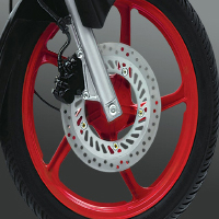 Hero Honda Karizma R Wheels And Tyre View