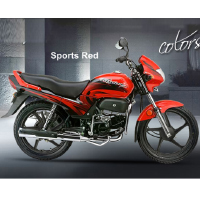 Hero Honda Passion Plus Different Colour View 3