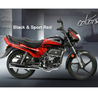 Hero Honda Passion Plus Different Colour View 6