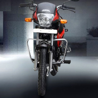 Hero Honda Passion Plus Front View