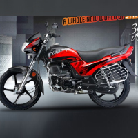 Hero Honda Passion Plus Left View