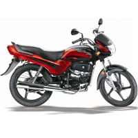 Hero Honda Passion Plus Right View