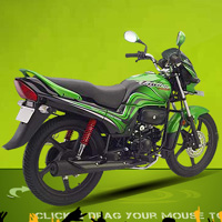 Hero Honda Passion PRO Rear Cross Side View