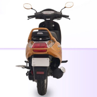 Hero Honda Pleasure Back View