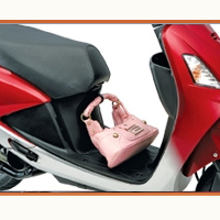 Hero Honda Pleasure Foot Rest View