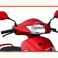 Hero Honda Pleasure Head Light View