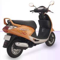 Hero Honda Pleasure Rear Cross Side View
