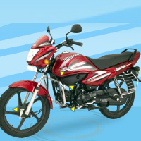Hero Honda Splendor NXG Front Cross Side View