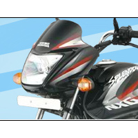Hero Honda Splendor NXG Head Light View