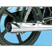 Hero Honda Splendor NXG Silencer View