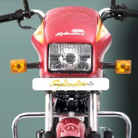 Hero Honda Splendor Plus Head Light View