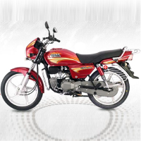 Hero Honda Splendor Plus Left View