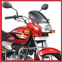 Hero Honda Splendor Super Head Light View