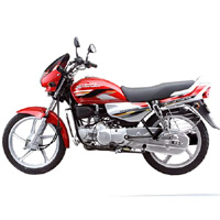 Hero Honda Splendor Super Left View