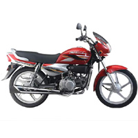 Hero Honda Splendor Super Right View