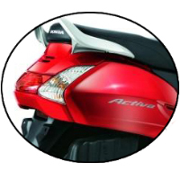 Honda Activa Back Light View