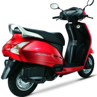 Honda Activa Rear Cross Side View