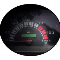 Honda Activa speedometer view Picture