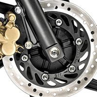 Honda CB Dazzler Disk Brake View