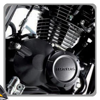 Honda CB Twister Engine View