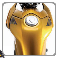 Honda CB Twister Oil Tank View