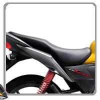 Honda CB Twister Seet view Picture