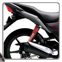 Honda CB Twister shocker view Picture