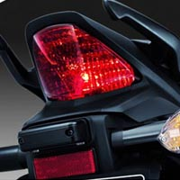 Honda CBR 150R Back Light View