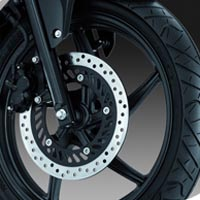 Honda CBR 150R Wheels And Tyre View