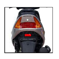 Honda Dio Back Light View