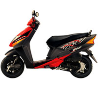 Honda Dio Different Colour View 4