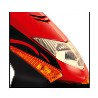 Honda Dio Head Light View