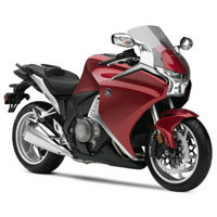 Honda VFR1200F Front Cross Side View