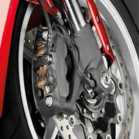 Honda VFR1200F Wheels And Tyre View