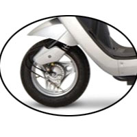 Indus Yo Speed wheels and tyre view Picture