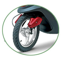 Indus Yo Xplor ER wheels and tyre view Picture