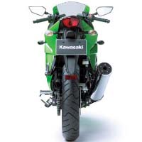 Kawasaki Ninja 250R Back View